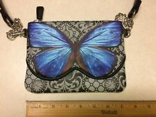 Disney Alice through the Looking Glass Butterfly Purse Nice EUC!
