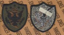 US Army Ele. Northern Command NORTHCOM OD Green & Black BDU uniform patch m/e