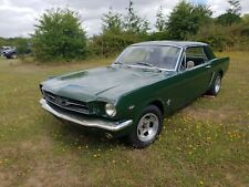 Classic Ford Mustang 1965 289 V8 Coupe Recent Rebuilt engine with UK V5