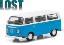 Greenlight 1/64 Lost TV Series 2004-10 1971 Volkswagen Type 2 Bus Blue (44720E)