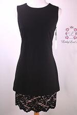 Calvin Klein New A-Line Lace Hem Sleeveless Dress CD6C2828 Size 4 6 8 14 New NWT