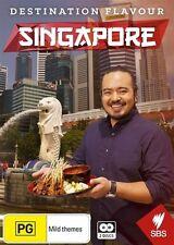 Destination Flavour - Singapore (DVD, 2017, 2-Disc Set)(Region 4) Aussie Release