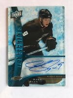 2009-10 UD TRILOGY ICE SCRIPTS BOBBY RYAN AUTO AUTOGRAPH