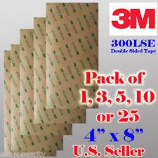 3M 300LSE Double Sided Sticky Adhesive Sheet Transfer Tape High Bond Digitizer x