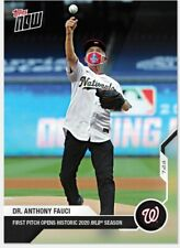 2020 TOPPS NOW Dr. Anthony Fauci Opening Day First Pitch #2 IN HAND!!!
