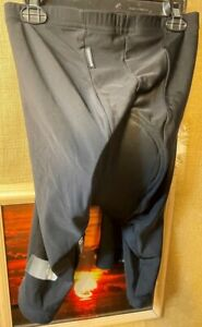 Pearl iZumi ultra sensor men's black padded cycling shorts size L