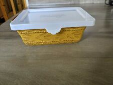 New listing Temptations Mustard Presentable Ovenware With Lid