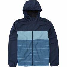2017 NWT MEN'S BILLABONG TRANSPORT $49.95 navy L windbreaker streetwear jacket