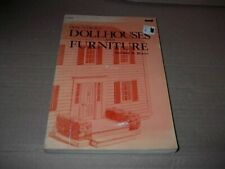 How to Build Dollhouses and Furniture Book by Donald Brann ~ 1976 PB  Nice Book