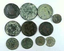 Lote 10 Monedas España Austrias y Borbones Felipe III a Isabel II| Spanish Coins