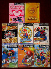 Gamecube super smash bros mêlée dx mario tennis golf party 7 kart sunshine wario