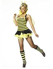 Leg Avenue Queen Bumble Bee Costume 83275 Black/Yellow XS