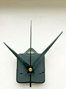 Clock Movement - Quartz Black Sweeping Hands - AA Battery Powered  Mechanism UK