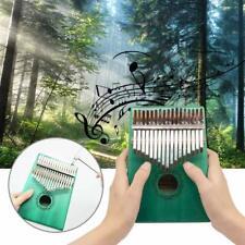Thumb Piano 17 Key Kalimba Solid Wood Finger Piano Music Instrument Percussion