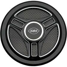 S&S Cycle Tri-Spoke Stealth Air Cleaner Cover - 170-0210
