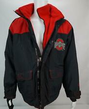 Champion Ohio State Buckeyes Men's Size Medium Puffer Jacket w/zip up Hood Black
