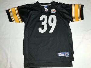 NFL Reebok Jersey WILLIE PARKER #39 Steelers Youth X-Large (18-20). Pre-Owned