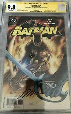 Batman #616 9.8 NM/MT CGC SIGNED 3x! HUGE AUCTION! NO RESERVE! Jim Lee, DC 2003