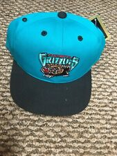 NWT Vintage Vancouver Grizzlies Youth Adjustable Snapback Hat Cap New With Tags