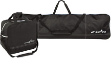 Athletico Two-Piece Snowboard and Boot Bag Combo | Store & Transport Snowboard |