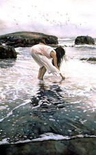 Steve Hanks - Confering With The Sea ( 454 Of Only 999) Excellent COA Rare Hanks