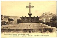 CPA 65 Haute-Pyrénées Lourdes Croix Celtic sur le dôme de l' Eglise