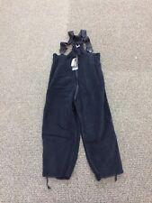 USGI Polartec Black Fleece Overalls Extra Large - XL Short/Regular