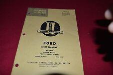 Ford Major Diesel & Power Major Diesel Tractor I&T Shop Manual LCPA