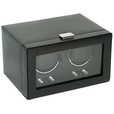 WOLF DESIGNS 2.1 Heritage Double Automatic Watch Winder Battery Operated Storage