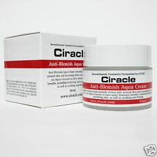 Ciracle Anti-Blemish Aqua Cream 50ml Acne Trouble spot  Moisturiser