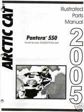 2005 ARCTIC CAT PANTERA 550 SNOWMOBILE PARTS MANUAL NEW