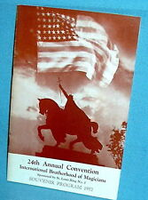 24th I.B.M. 1952 Magic Conv Program WILLARD/ALLERTON