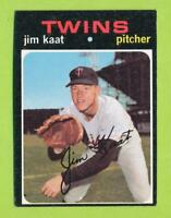 1971 Topps - Jim Kaat (#245)  Minnesota Twins