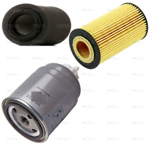 FOR JEEP COMPASS 2.2 DT 09- AIR OIL FUEL FILTER SERVICE KIT BRAND NEW