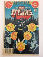 The New Teen Titans Annual #2 Comic Book DC 1983