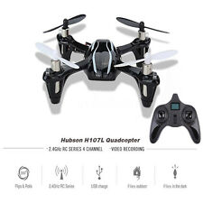 2.4GHz Hubsan X4 H107L 4CH RC Quadcopter w/ LED Lights RTF Flying Helicopter