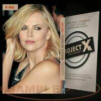 Charlize Theron [ # 644-UNC ] PROJECT X Numbered cards / Limited Edition