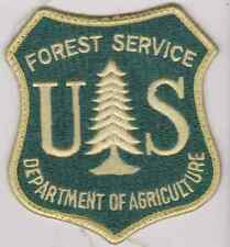 Department of Agriculture Forest Service Forest Ranger Police Patch