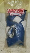 Blue Simpson Knit Nomex Racing Helmet Safety Skirt - Dirt Skirt 23010