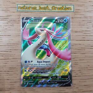 MINT Condition Milotoc V 179/192 Holo/Shiny Pokemon Card, SM Rebel Clash Rare
