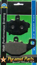 Rear Brake pads to fit: Kawasaki ZZR600 / ZX6R / ER6F/ ER6N / Versys, Z750S +