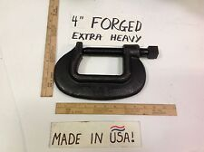 "4"" C-CLAMP EXTRA HEAVY DUTY USA! HEAVIEST MADE 20,000 POUND TEST LOW PRICED!"