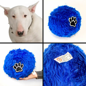 NEW - Soft Fluffy Large Size Dog Ball For ENGLISH BULL TERRIER