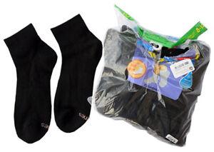 Hanes Women's Size 8-12 Extended Ankle Socks, Black 9-Pack - NEW, Open Pkg