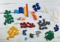249 KNEX K'NEX Miscellaneous Connectors/Rods Replacement Pieces Mixed Lot
