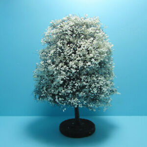"""Dollhouse Miniature Beautiful Outdoor 6"""" White Tree for Landscaping CABHS12"""