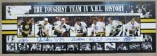 Boston Bruins Toughest Team in NHL History Hockey Signed Photo #370/400