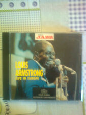 ARMSTRONG LOUIS - LIVE IN EUROPE - CD  (MUSICA JAZZ)