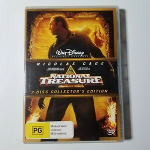 National Treasure | DVD Movie | Nicolas Cage, Diane Kruger| 2004 | Action | PAL
