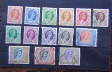 Rhodesia & Nyasaland 1954 - 1956 set to 5s Used